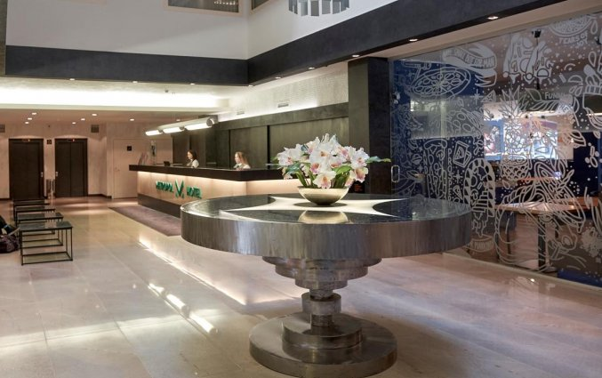 Lobby van Hotel Metropol Tallinn