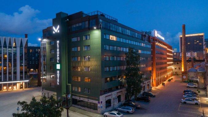 Gebouw van Hotel Metropol Tallinn