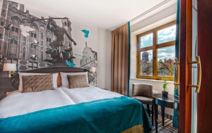 Tweepersoonskamer van Hotel Hanza Gdańsk
