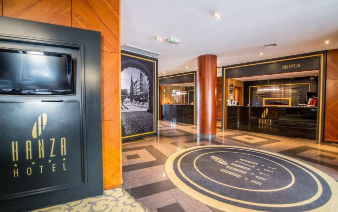 Lobby van Hotel Hanza Gdańsk