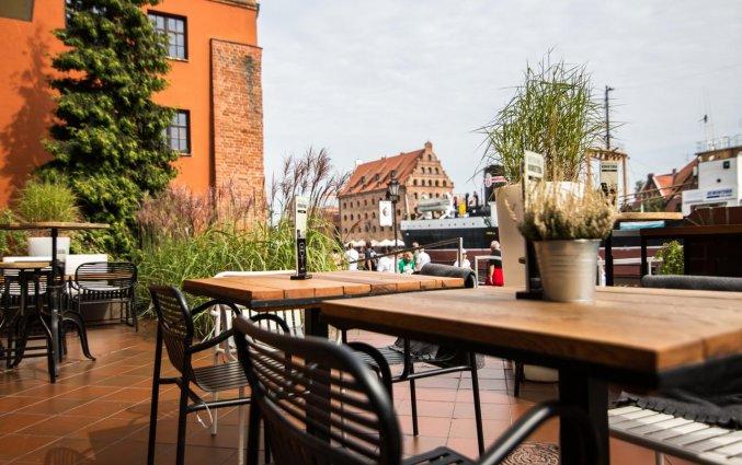 Terras van Hotel Hanza Gdańsk