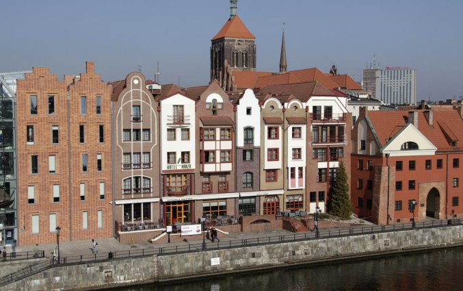 Gebouw van Hotel Hanza Gdańsk