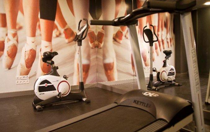 Fitnessruimte van Hotel Hanza Gdańsk