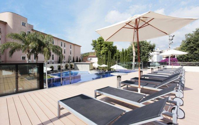 Zonneterras van Hotel Isla Mallorca & spa Mallorca