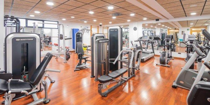 Fitnessruimte van Hotel Isla Mallorca & spa Mallorca