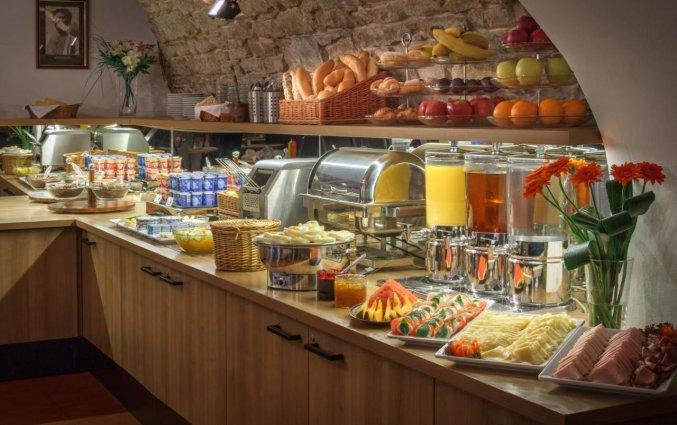Ontbijt van Hotel Mucha Praag