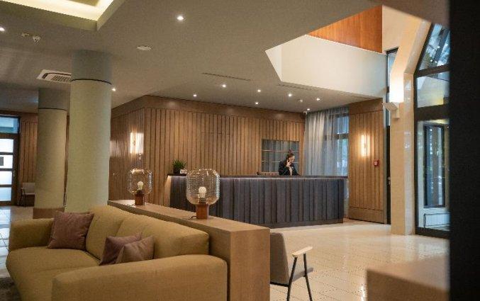 Receptie van Adina Apartment Hotel Budapest