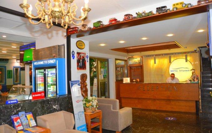 Receptie van Istankoy Hotel
