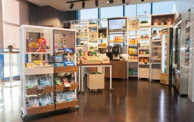 Supermarkt bij Hotel Garden Inn Sevilla