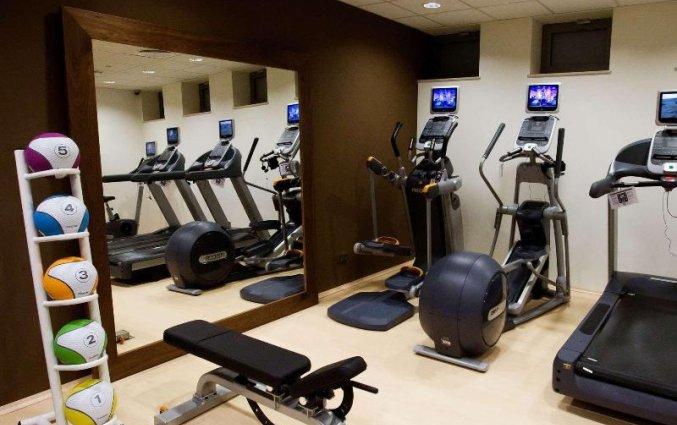 Fitnessruimte van Hilton Garden Inn Krakau