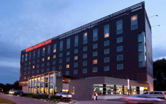 Gebouw van Hilton Garden Inn Krakau