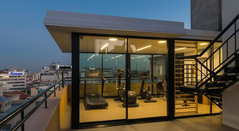 Fitnessruimte van Hotel Miraparque in Lissabon