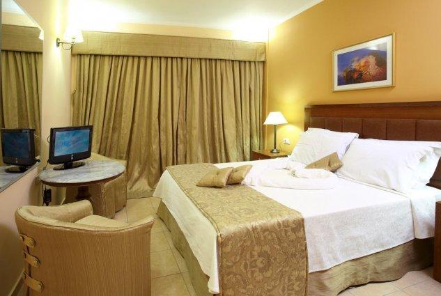 Tweepersoonskamer in hotel Ariti Corfu