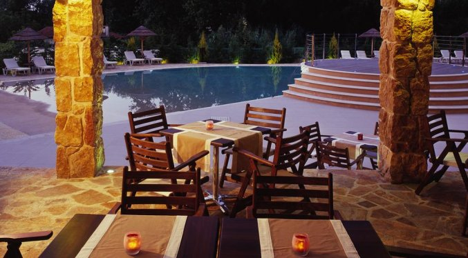 Terras hotel Ariti Corfu