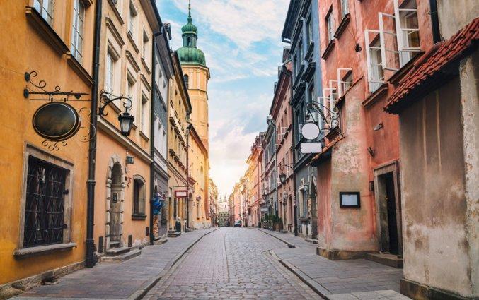 Warschau - Straatje