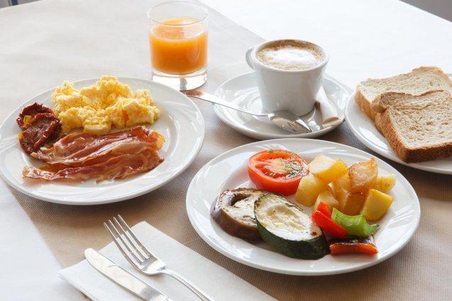 Ontbijt van Hotel Expo in Valencia