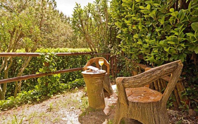 Tuin met zitje van Hotel Scapolatiello in Amalfi
