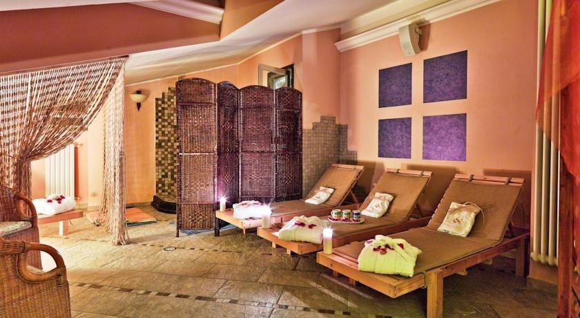 Ontspanningsruimte van Hotel Scapolatiello in Amalfi