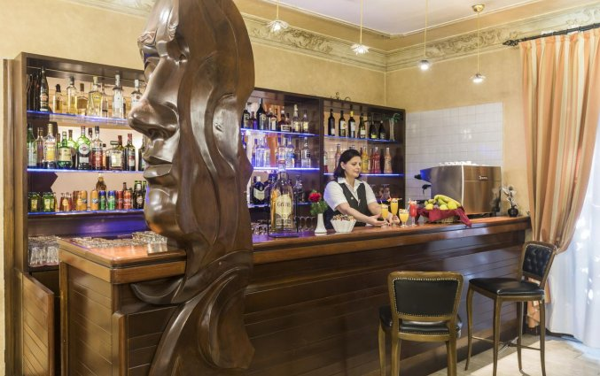 Bar van hotel Villa Rosa in Rome