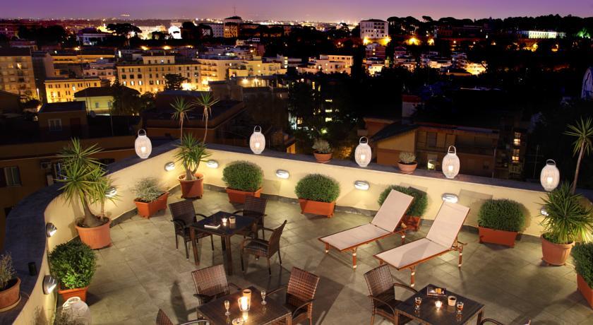 Dakterras hotel Alessandrino
