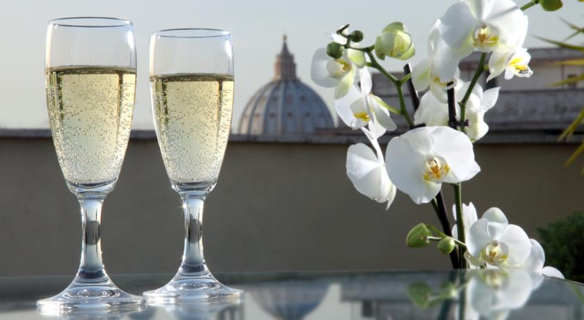 Wijnen hotel Alessandrino
