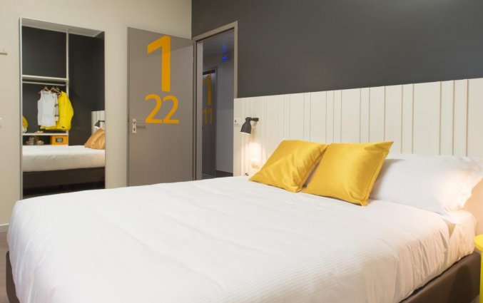 Tweepersoonskamer van Hotel Ornato in Milaan