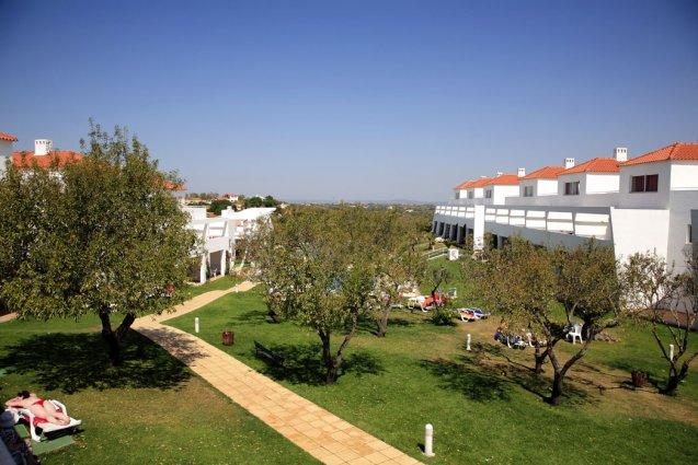 Terrein van appartementen Pateo Village in de Algarve