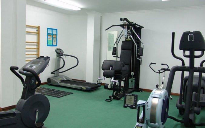 Fitnessruimte van Hotel & Spa Maritur in de Algarve