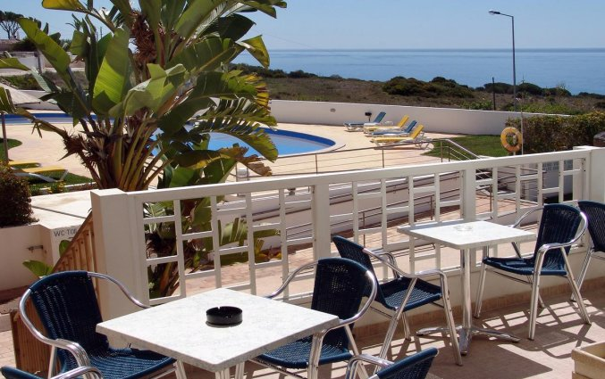 Balkon van Hotel & Spa Maritur in de Algarve