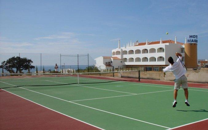 Tennisbaan van Hotel & Spa Maritur in de Algarve