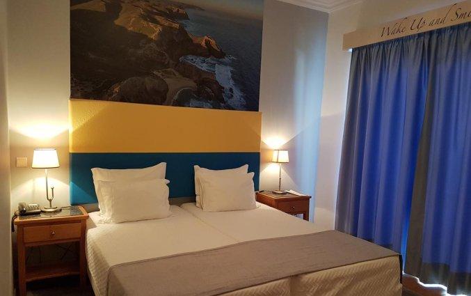 Tweepersoonskamer van Hotel & Spa Maritur in de Algarve