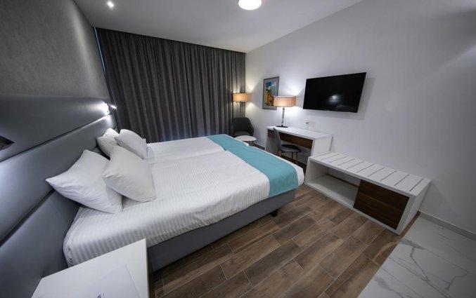 Tweepersoonskamer van Hotel Solana op Malta