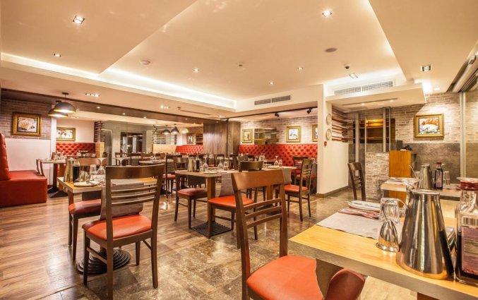 Restaurant van Hotel Solana op Malta