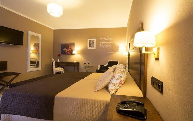 Tweepersoonskamer van Hotel La Fonda in Andalusië