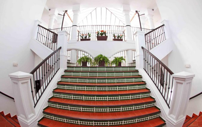 Trappenhuis van Hotel La Fonda in Andalusië