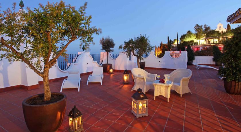Het dakterras van Hotel La Fonda Andalusië
