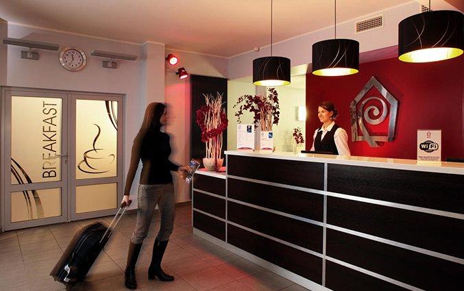 Receptie van Hotel Dodo in Riga