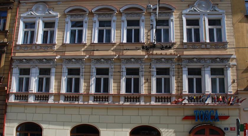 Hotel Tosca in Praag