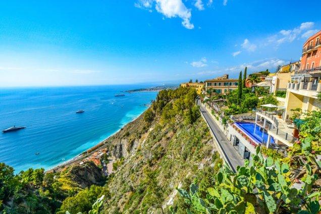 Sicilië - Uitzicht