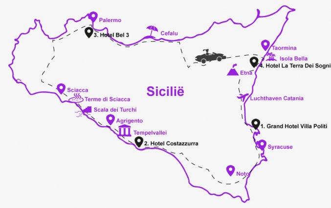 RondreiSicilie - hotels