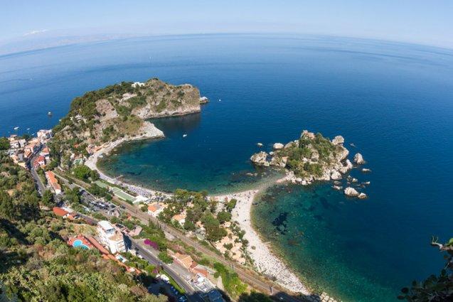 Isola Bella rondreis Sicilië