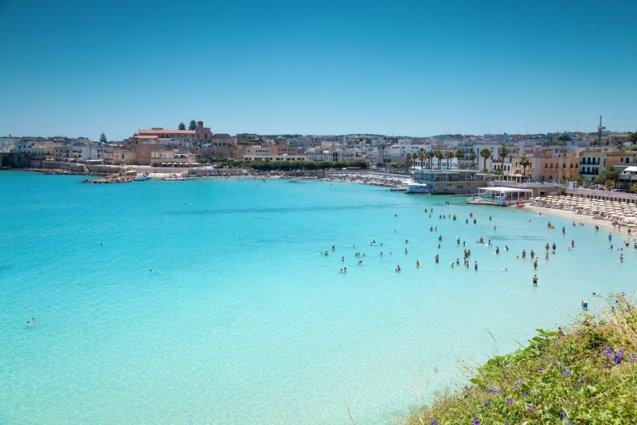 Puglia - Cesina strand
