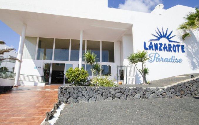 Buitenaanzicht van Appartementen Lanzarote Paradise op Lanzarote
