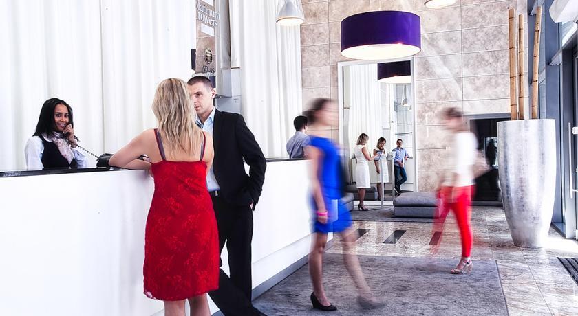 Receptie van Aparthotel Platinum Residence in Warschau