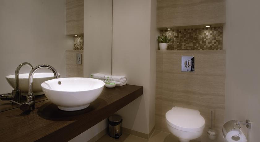 Badkamer van Aparthotel Platinum Residence in Warschau