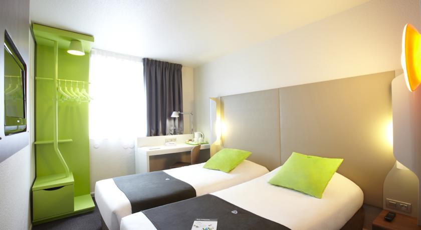Dubbele kamer van Hotel Campanile Warschau