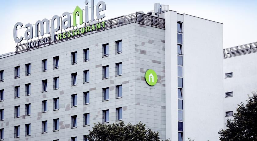 Buitenaanzicht van Hotel Campanile Warschau