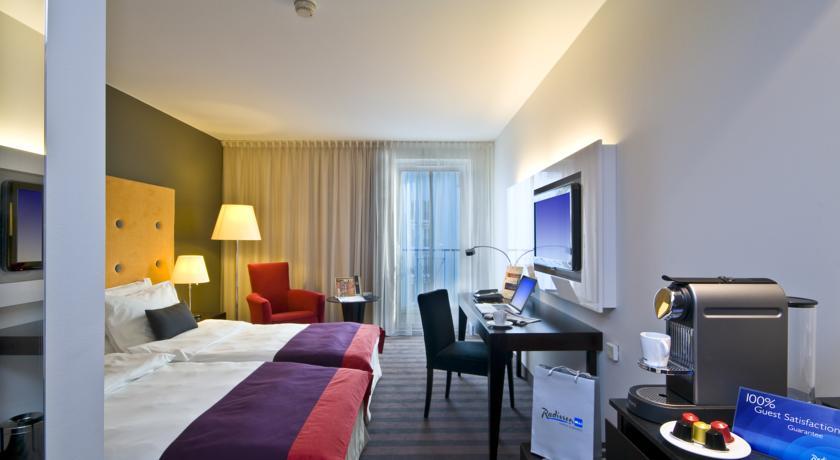 Tweepersoonskamer van Hotel Radisson Blu Sobieski in Warschau