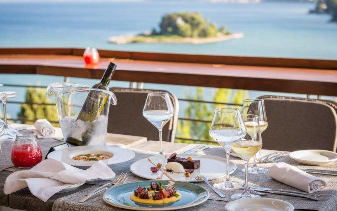 Veranda restaurant Corfu PAlace