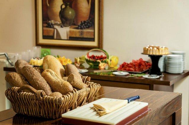 Ontbijbuffet van Hotel Adelais op Kreta